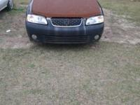 2002 nissan sentra  1.8 engine automatic new headlights