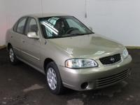 Options Included: N/A2002 NISSAN Sentra 4dr Sdn GXE