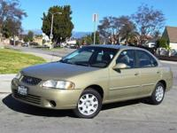 2002 NISSAN SENTRA WITH 90K LOW MILES IN NEW CONDITION
