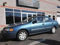33 MPG! A low-mileage 2002 Nissan Sentra XE offering