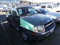 XTERRA XE 4D SUV 4X4 V6  Options:  Abs Brakes