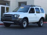 New Price! Clean CARFAX. Cloud White 2002 Nissan Xterra