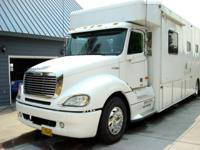 Freightliner NRC conversion Motorhome, with 500 HP Cat