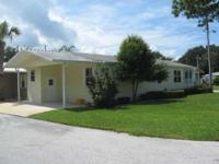 2002 Palm Harbor Move-In Ready! Waterfront 55+