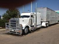 63 inch flat top sleeper, CAT C16 engine with 600 HP,