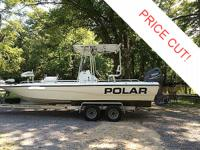 2002 Polar Dynasty 23 Bay Boat Features: 2002 23' Polar