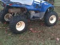2002 Polaris 350 ATV. Runs perfect looks good.