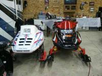 I have a showroom condition polaris sled here,only 4500