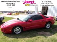 Options Included: 2002 Pontiac Firebird T-Top, Bright