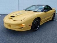 Trans Am collector edition, still has new car smell -