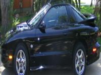 Stunning 2002 Pontiac Trans-Am NHRA Version. Black w/