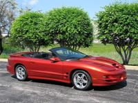 2002 Pontiac Trans Am WS6 Convertible With Under 4K