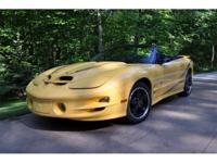 One Owner 2002 Pontiac TransAm WS6 Convertible