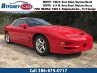 LOCALLY OWNED 2002 PONTIAC FIREBIRD TRANS AM**LOW