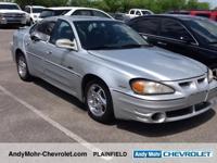 Priced below KBB Fair Purchase Price!  Pontiac Grand Am