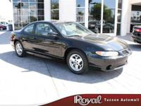 Options Included: 19/292002 Pontiac Grand Prix GT Coupe