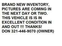 Options Included: Air Conditioning, Alarm System,