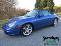 Cobalt Blue with graphite leather 996/ 911 6 speed