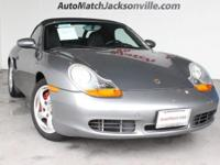 (904) 474-3922 ext.1036 This 2002 Porsche Boxster S is
