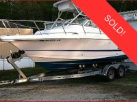 This vessel was SOLD on October 20. 2002 Pro-Line 23