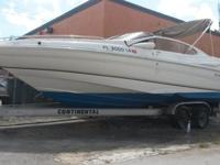 regal model 2500 25 ft 2002 with Volvo penta gi 5.0 82