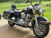 2002 ROAD KING POLICE FLHPI WITH LESS THAN 29,000