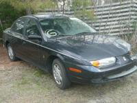 Marketing partly JUST:. 2002 Saturn SL Black. 1.9 L MT