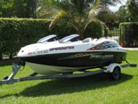 2002 Sea Doo Speedster17' Jet Boat, V6 Mercury 240hp