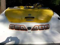 2002 Sea Doo Sportster LT Jet Boat and trailer for
