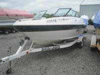 2002 Sea-Doo Utopia 185 This boat is powered by a 210HP