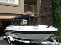 This is a beautiful 2002 Sea Doo Utopia Jet Boat. This