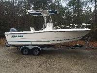 I have a 2002 Sea Pro 210 Center Console in excellent