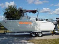 Terrific boat for inshore or out deepsea fishing. Do