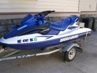 This Low Hour Adult Owned Seadoo GTX RFI has always