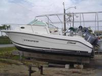 This is a GREAT BUY! A 2002 Seaswirl 2101 Walk Around.
