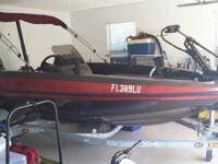 2002 SKEETER 16 FOOT BASS BOAT , EXCELLENT CONDITION !!