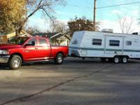 2002 Skyline Nomad Scout Travel Trailer. Length 26FT-