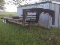 "2002 Starlite. 102"" x 20' with 4' dovetail. Two 7,000"