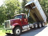 2002 Sterling LT9500 Boom Truck C-12 CAT 330hp; 181,693