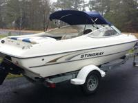 2002 Stingray 180 LS, 2002 Stingray 180 LS with