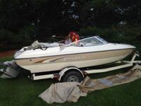 2002 18 foot Stingray- New motor put in last year.