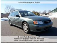 Year: 2002 Make: Subaru Model: Legacy Wagon Trim: L