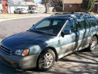 NO REPAIRS NEEDED!!! 2002 Subaru Outback Limited AWD,