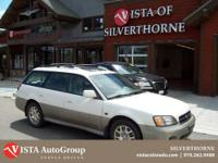 This 2002 Subaru Outback has a clean CARFAX and is a