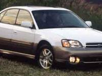 Outback trim. Sunroof, Heated Leather Seats, Premium
