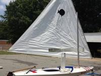 2002 Vanguard Sunfish in mint condition. Seldom sailed,