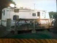 2002 Sunline M28 Travel Trailer This 28 foot RV is