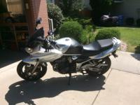 For sale is a used Suzuki Bandit 1200/S GSF1200. It has