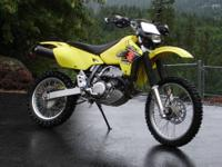 Excellent condition 2002 Suzuki DRZ400E. Kick-start