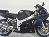 2002 Suzuki GSX-R600 2002 GSXR600 crotch rocket for